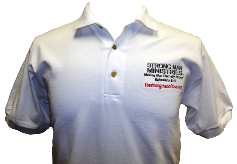 Strong Man Ministries Jersey Polo Shirt